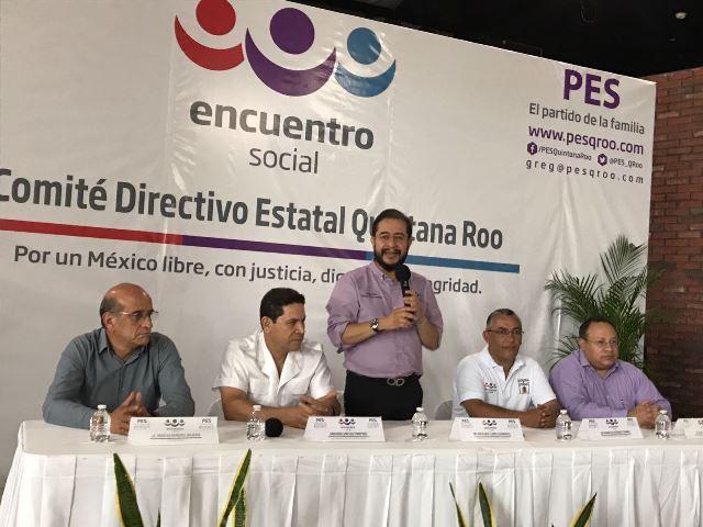 Gregorio Sánchez Martínez Nombramiento como Presidente Estatal del PES