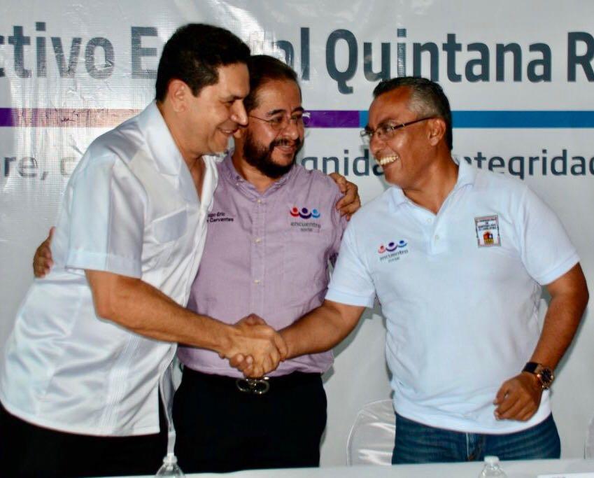 GREG SÁNCHEZ PRESIDENTE DEL PES EN QROO; CONFIRMA LA ELIMINACIÓN DEL FUERO
