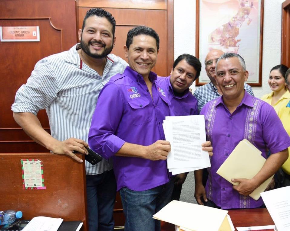 PRESENTA PES INICIATIVAS DE REFORMA ELECTORAL Y CONSTITUCIONAL ANTE EL CONGRESO.