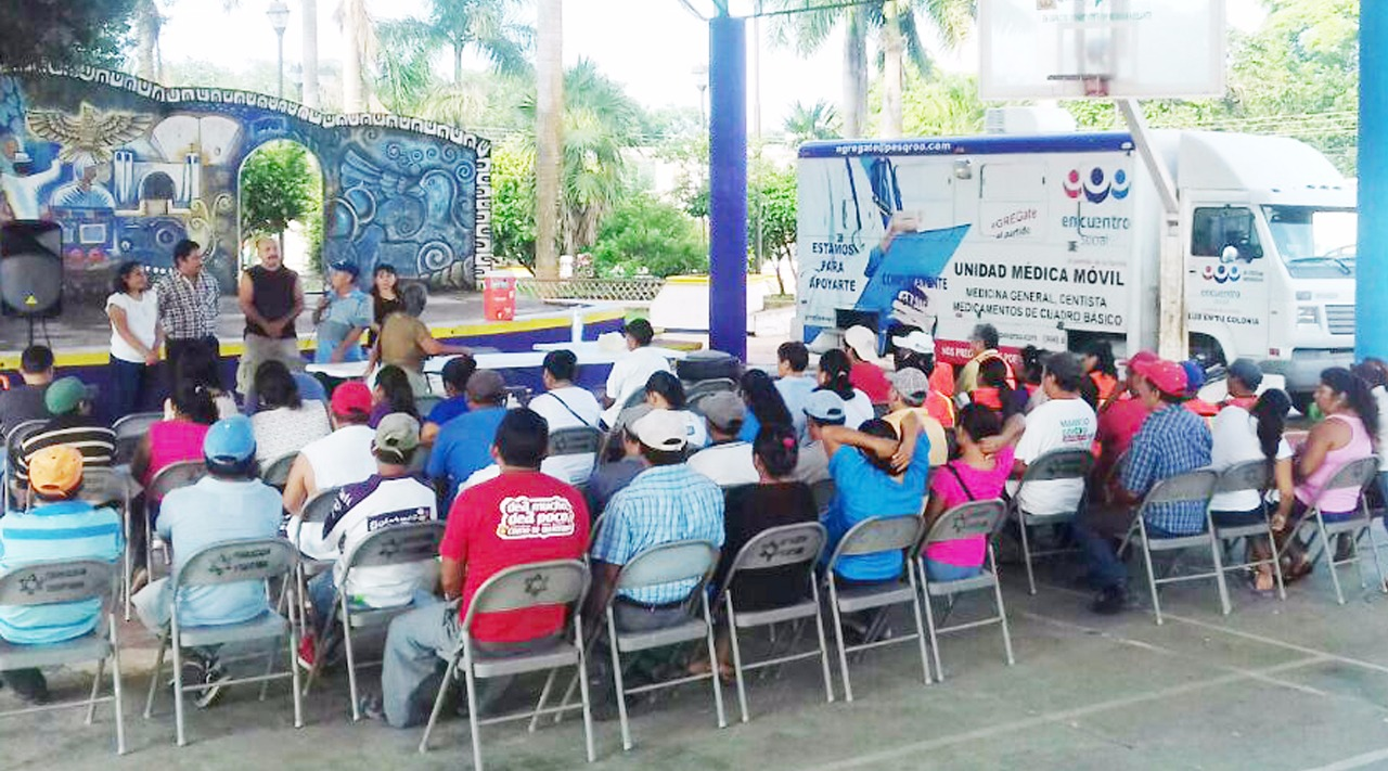 PROGRAMA DE ASISTENCIA MÉDICA DEL PARTIDO ENCUENTRO SOCIAL NO OLVIDA A JOSÉ MARIA MORELOS.