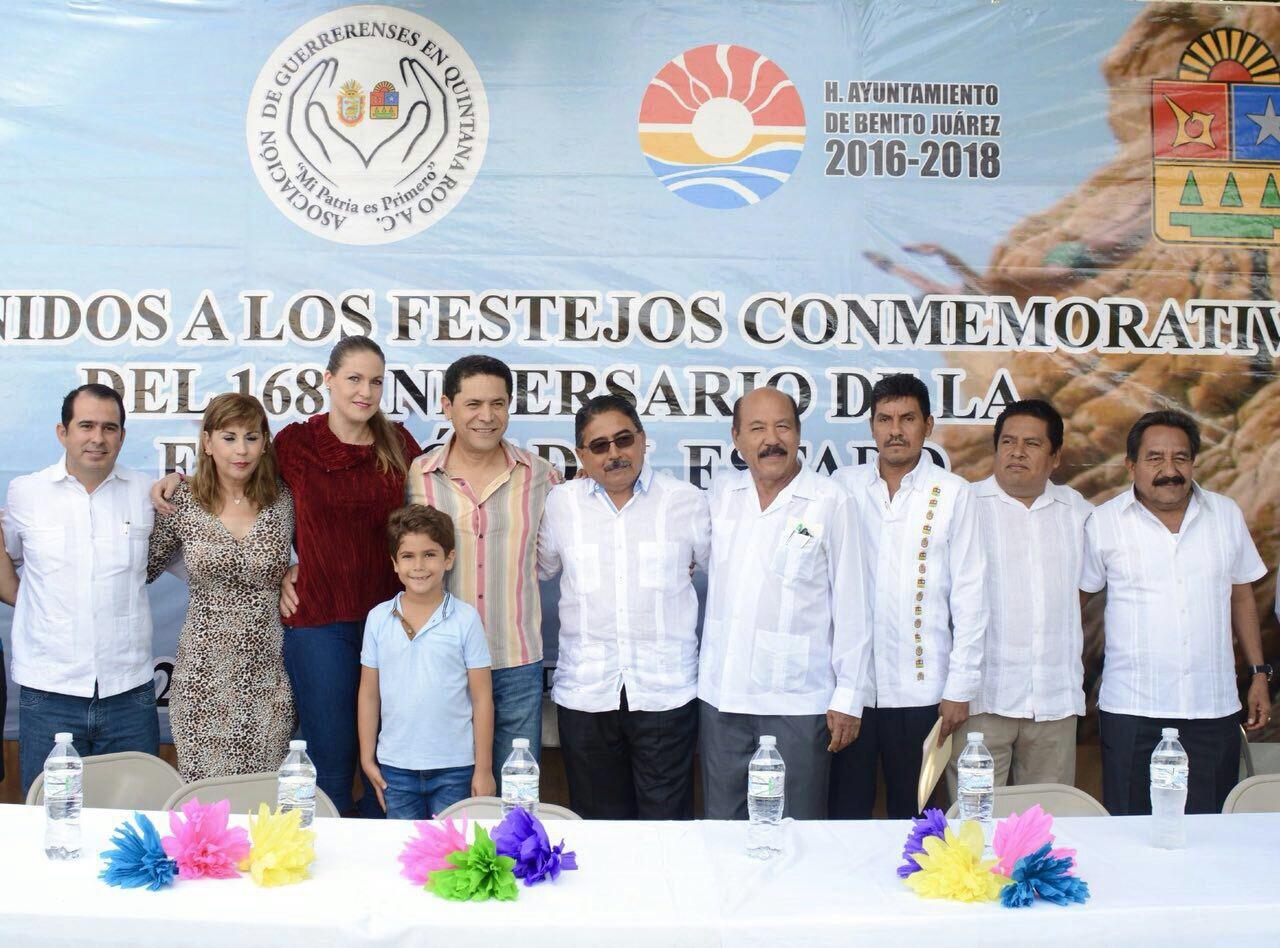 GREG SÁNCHEZ FESTEJA 168 ANIVERSARIO DE LA FUNDACIÓN DEL ESTADO DE GUERRERO.