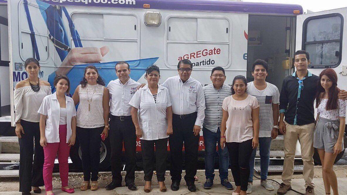 ENCUENTRO SOCIAL FESTEJA EL 43 ANIVERSARIO DE QUINTANA ROO DE LA MEJOR MANERA: TRABAJANDO.